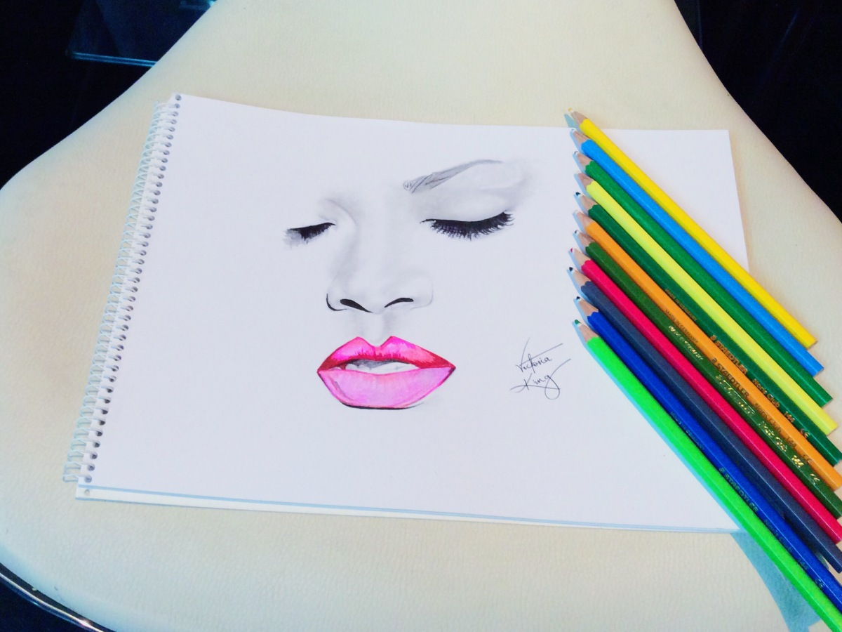 Journal | July's almost August + Twenty minutes Rihanna Sketch pictures